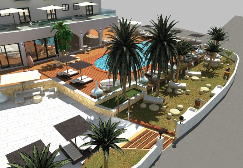 Garden Tagomago Ibiza